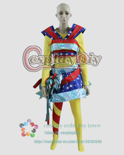 高品質 高級コスプレ衣装 ディズニーランド風 ハロウィン イースターサンタヴィレッジ(クリスマスパレード) ラッピングガール タイプ
