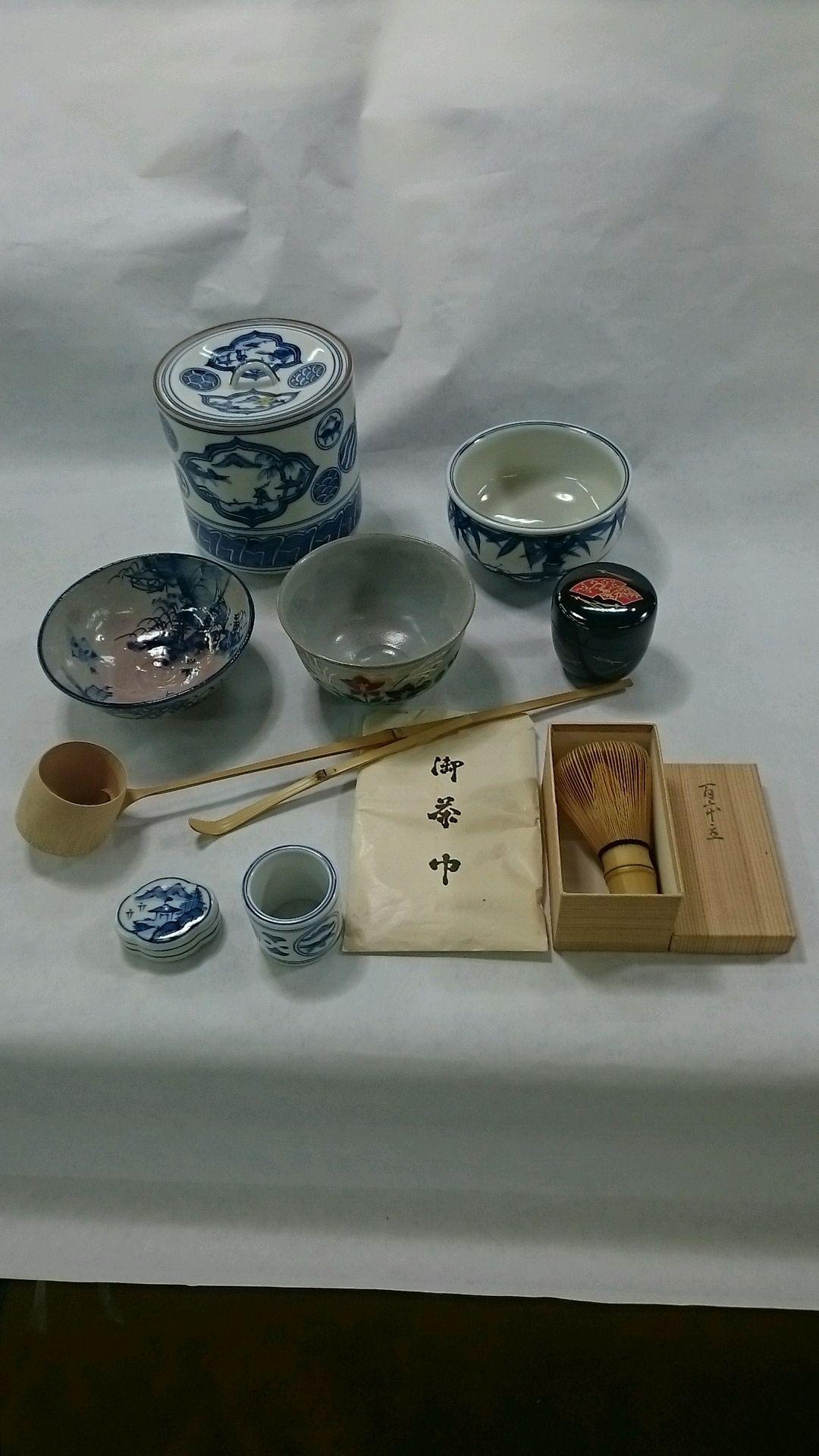 清水焼  茶道具