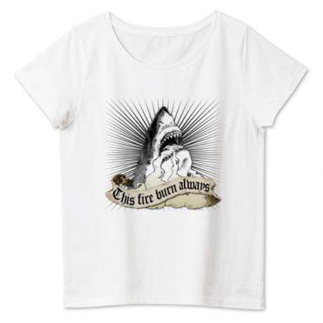 """レディース 4.6オンス  """"Shark"""" Nameless Element T-Shirt"""