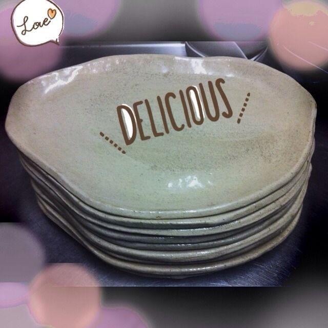 焼物皿(1枚)17×26(cm)7枚