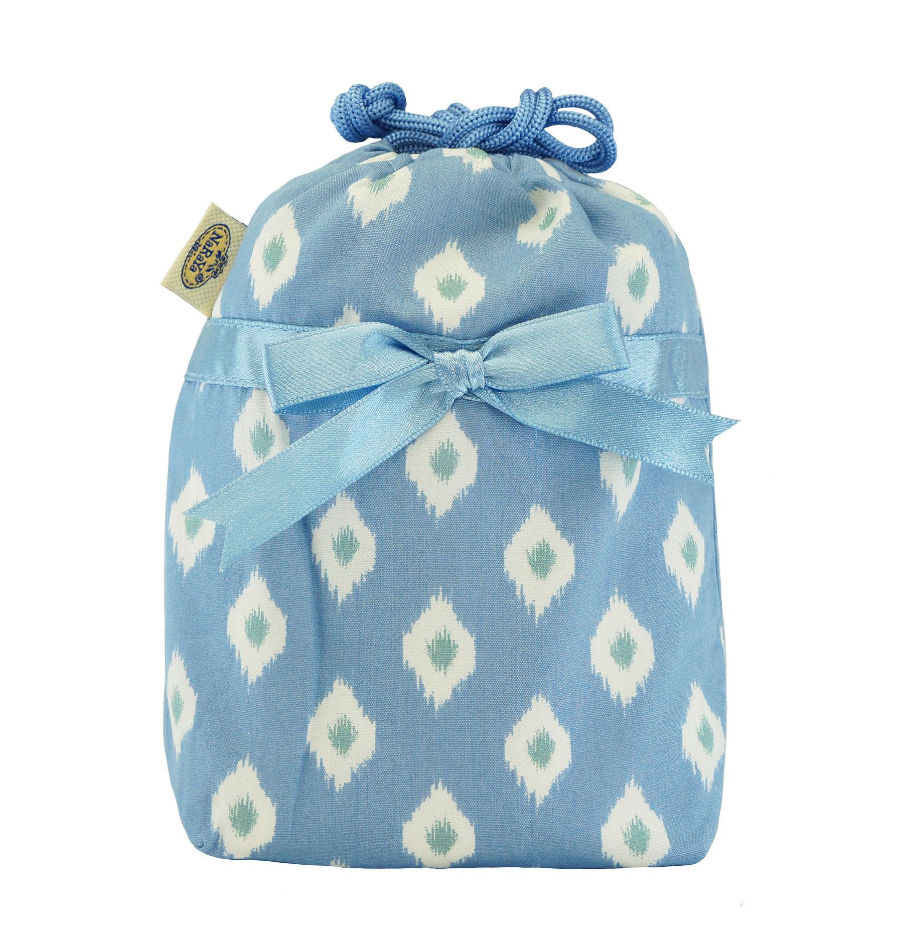 NaRaYa(ナラヤ) 巾着袋ポーチ(ランジェリーポーチ トラベルポーチ)・プロバンス(NB-258/S)