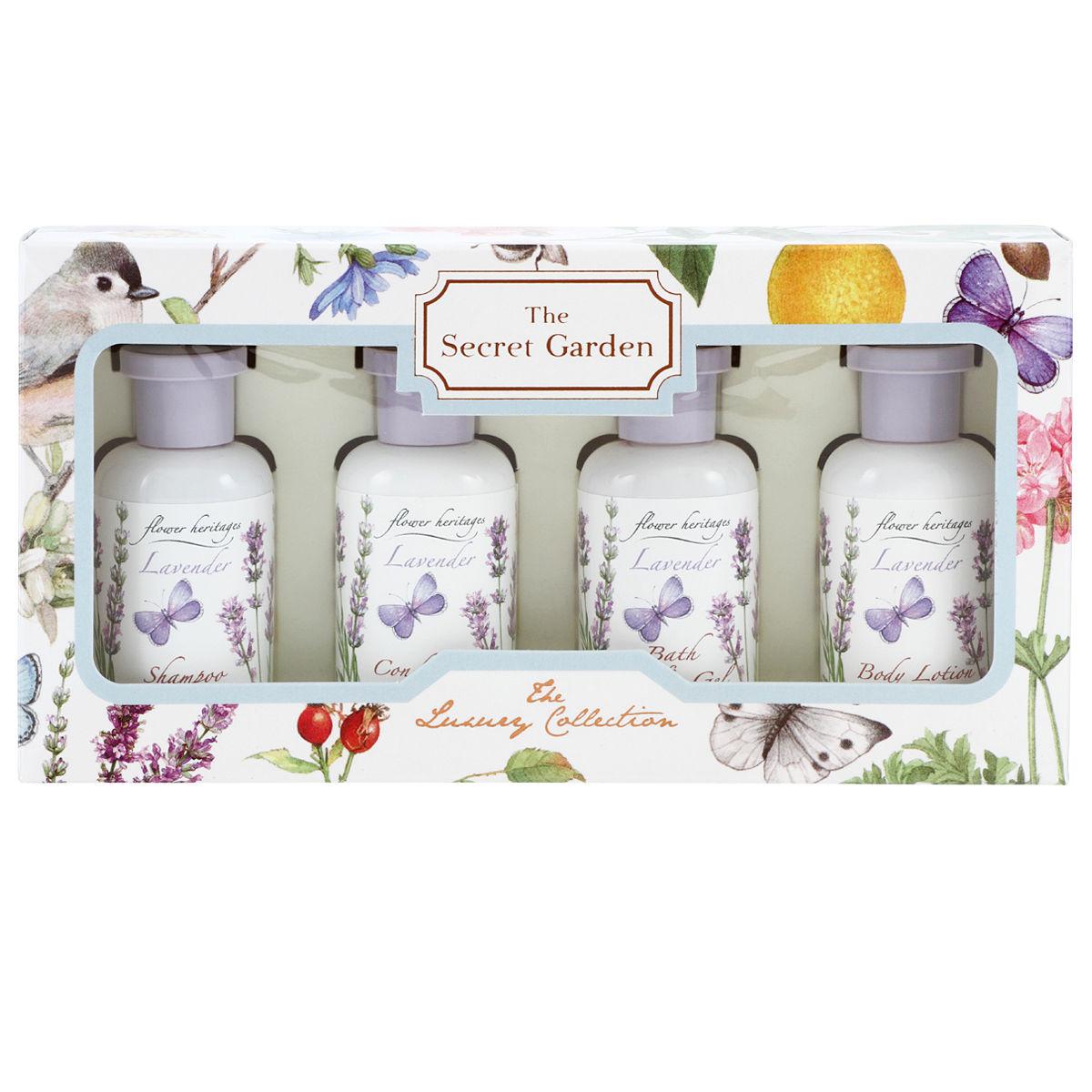Lavender トラベルキット (ヘア&ボディ) 30mlx4本