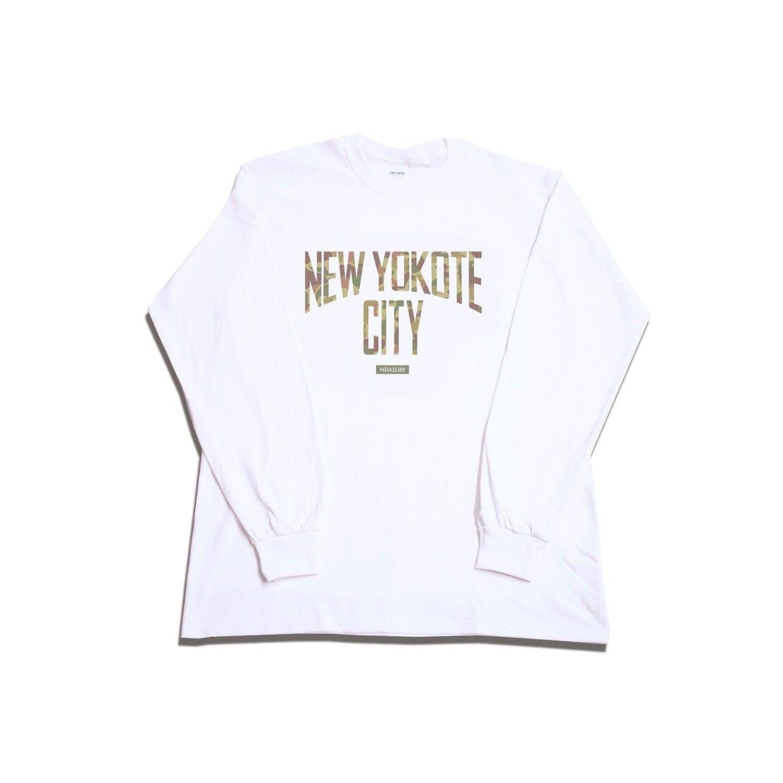 New Yokote City Long T-Shirts ロングTシャツ