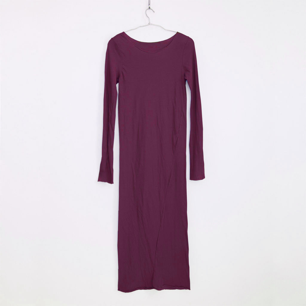 PITATTO LONG ONE-PIECE /☆KYOHO WINE RED