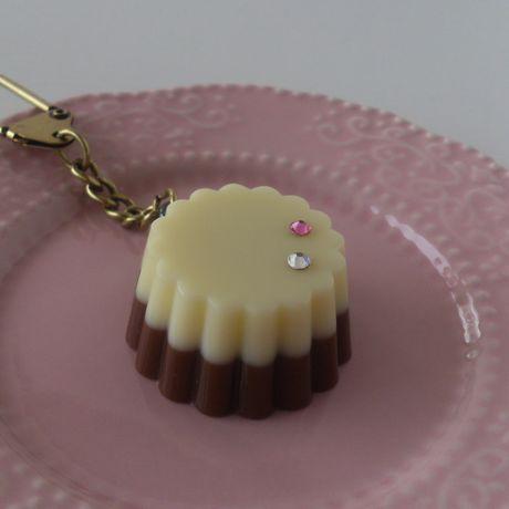 チョコ・キーホルダー まる型