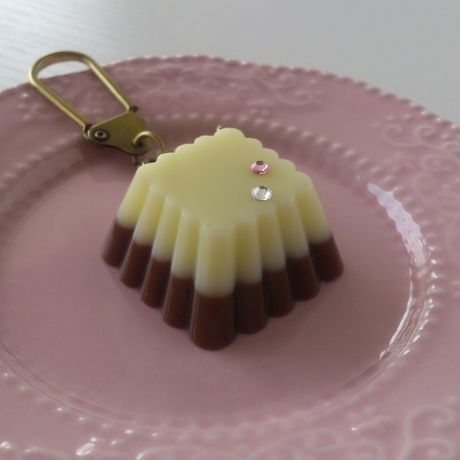 チョコ・キーホルダー ひし形
