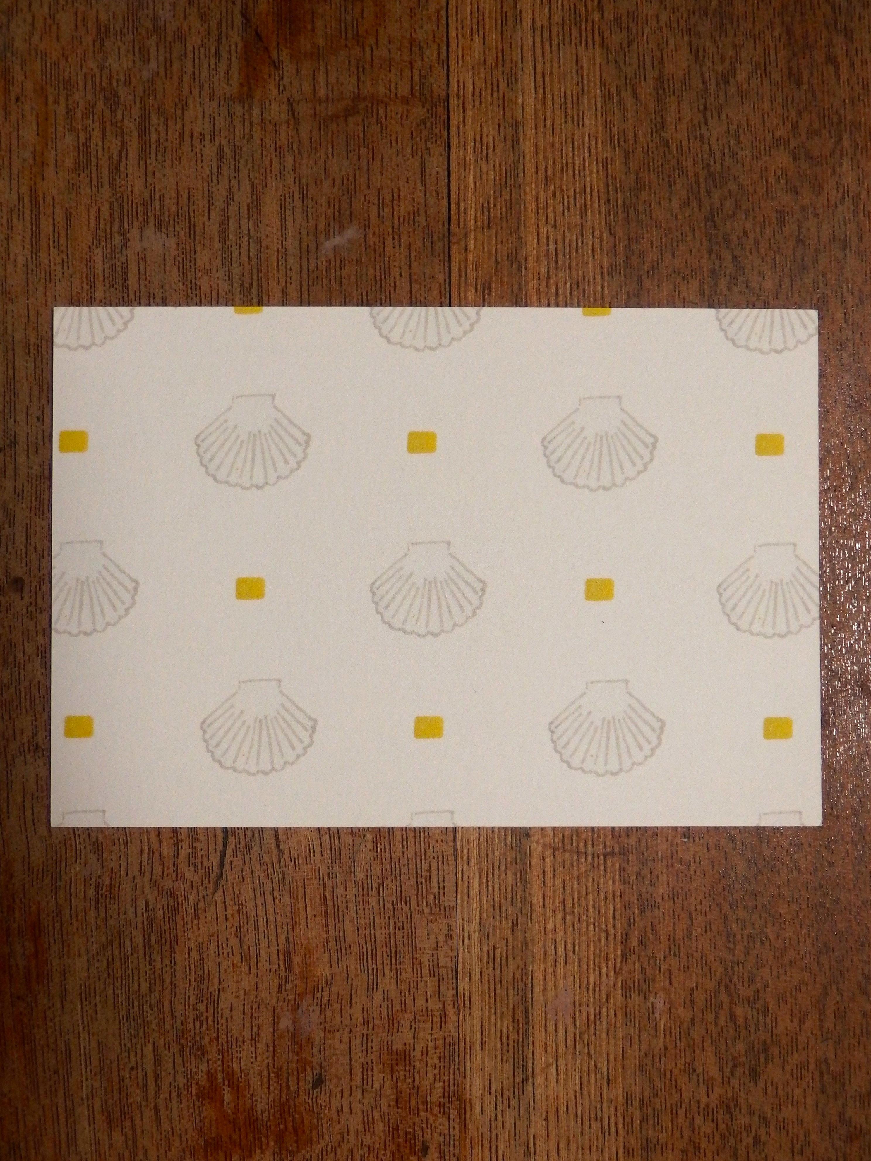 北海道のポストカード ほたて
