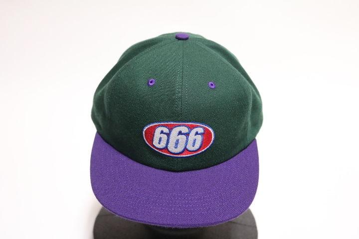 Supreme 2017S/S666 6-PANEL CAP GREEN
