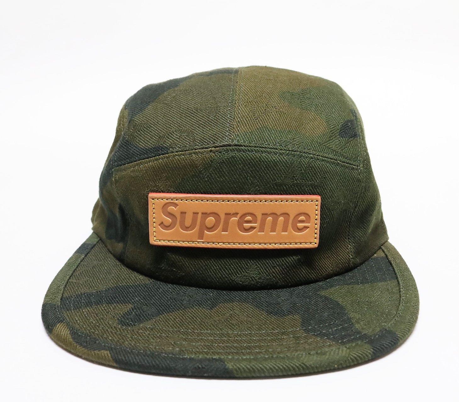 Louis Vuitton/Supreme Camp Cap