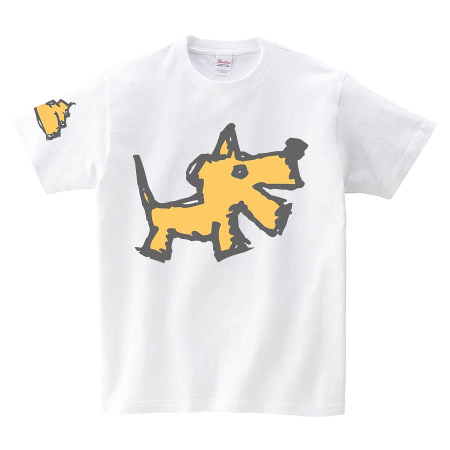 Tシャツ:犬の落し物02