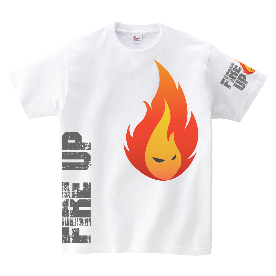 Tシャツ:FIRE UP 01