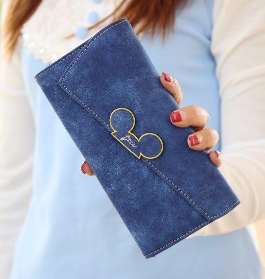 海外限定ブランド LEFTSIDE ファッションデザイナー 女性財布 レディース ミッキー財布 コイン財布 カードホルダー