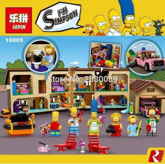 レゴ LEGO 互換 ザ シンプソンズ ハウス 71006相当 LEPIN