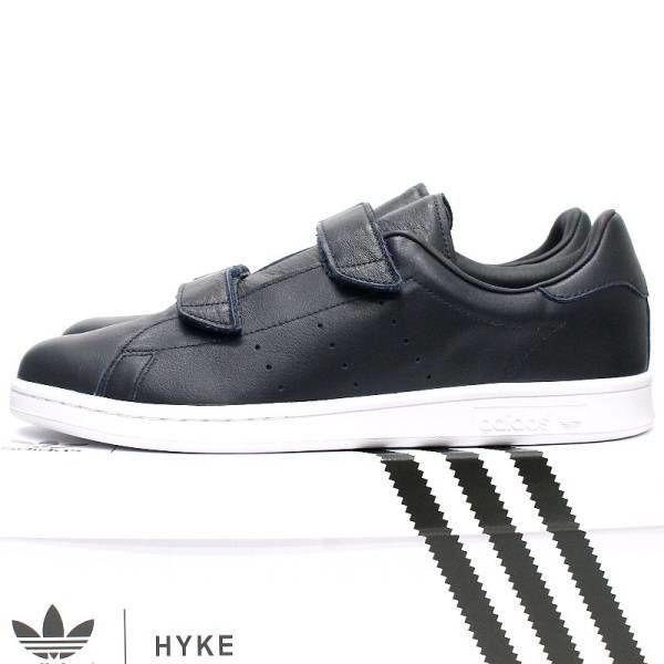 adidas Originals by HYKE アディダス オリジナルス バイ ハイク AHO-005 FAST スニーカー 紺 S79345 2016SS