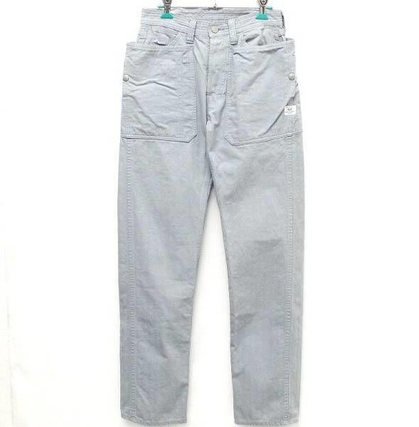 SASSAFRAS ササフラス Fall Leaf Sprayer Pants パンツ XS SS 灰 GRAY グレー COTTON コットン 綿 フォールリーフ 独特 シルエット