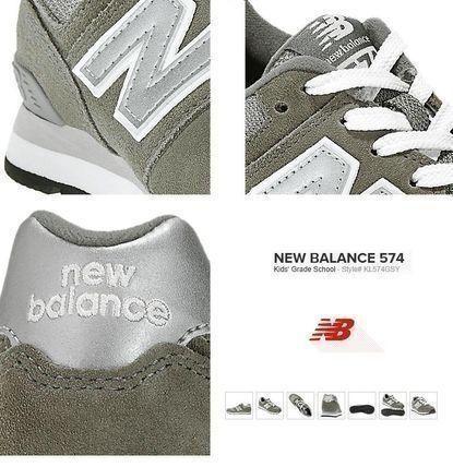 梨花さんえみりさんリアーナさん愛用 New Balance KL574 Grey グレイ USA販売品