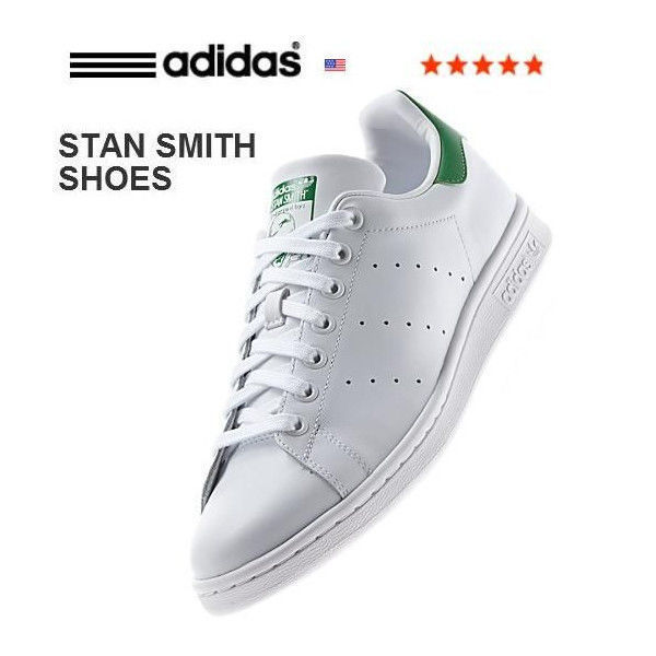 アディダス スタン スミス adidas Originals Stan Smith スニーカー ホワイト/ グリーン(M20324)