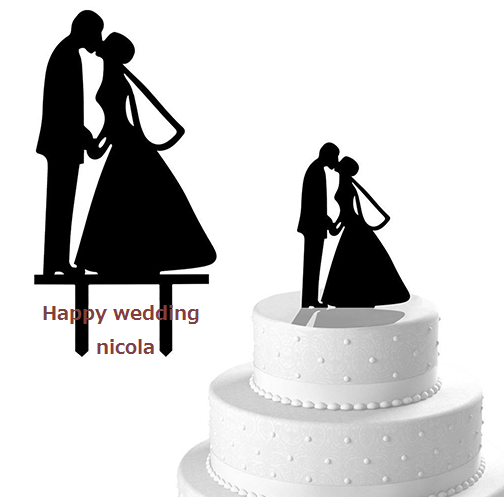 wedding cake Topper Type 1