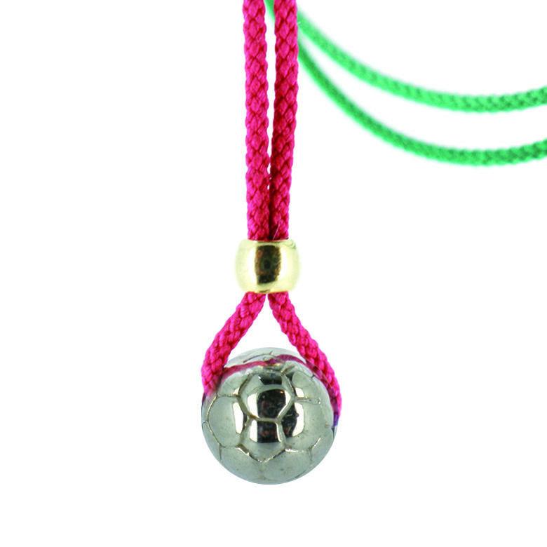 Mini Soccer Ball Necklace Missanga