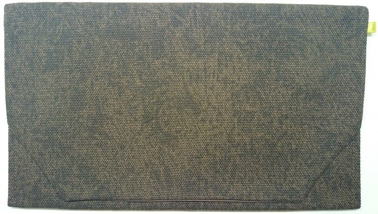 036BR-LWB-A 御朱印帳袋(御朱印帳約18.5cm×12.5cm) バッカス(酒袋) 茶色