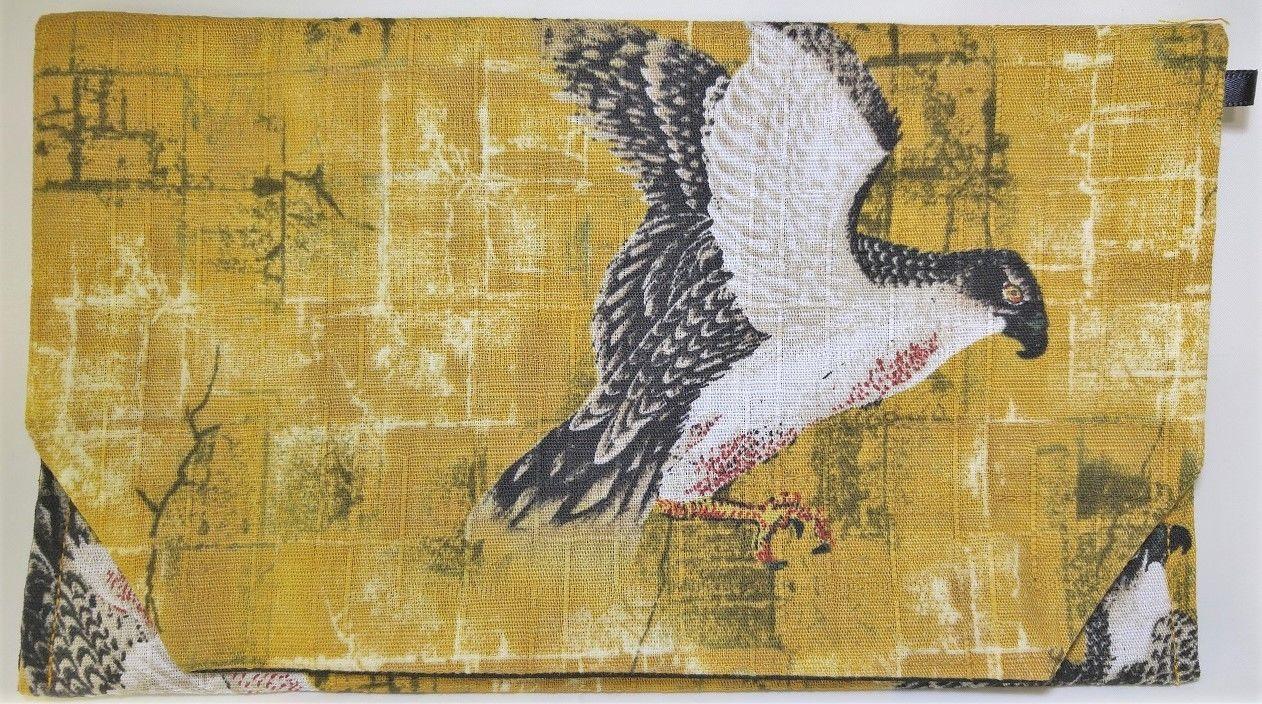 016DY-GWM-A トビー織 鷹 (御朱印帳約16cmx11.5cm対応)