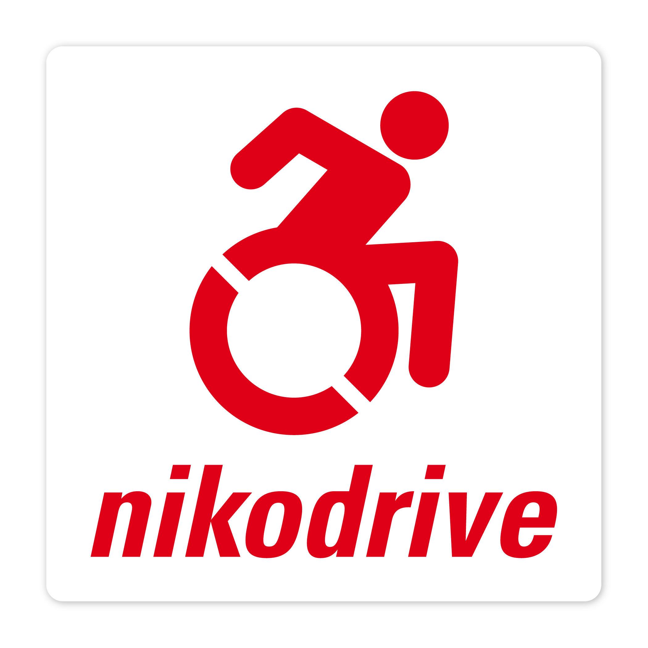 ニコ・ドライブ アクセシブルアイコンステッカー【送料込】