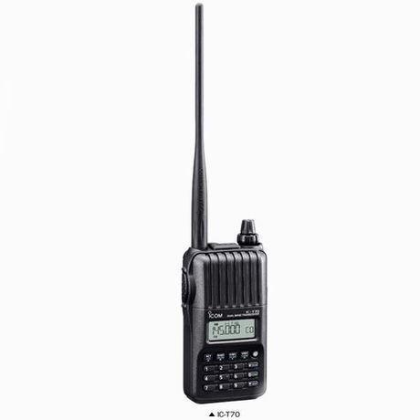 アマチュア無線機 IC-T70
