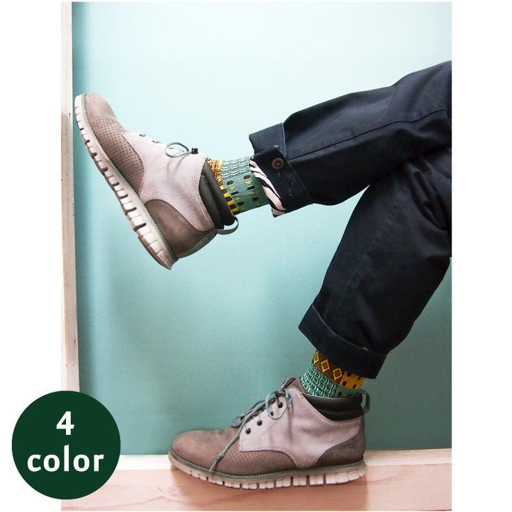 【nonnette】 Socks MEN  NMS035D