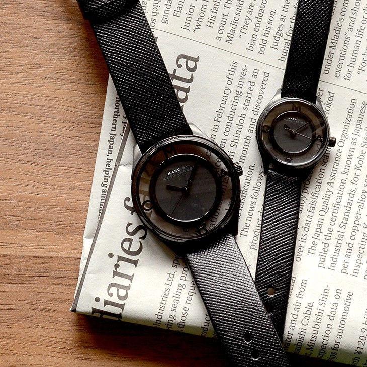 【無料特典付き!】【期間限定特価】マークジェイコブス ペアウォッチ ティザー 36mm 25mm レザー MBM1379MBM1384 あすつく 腕時計