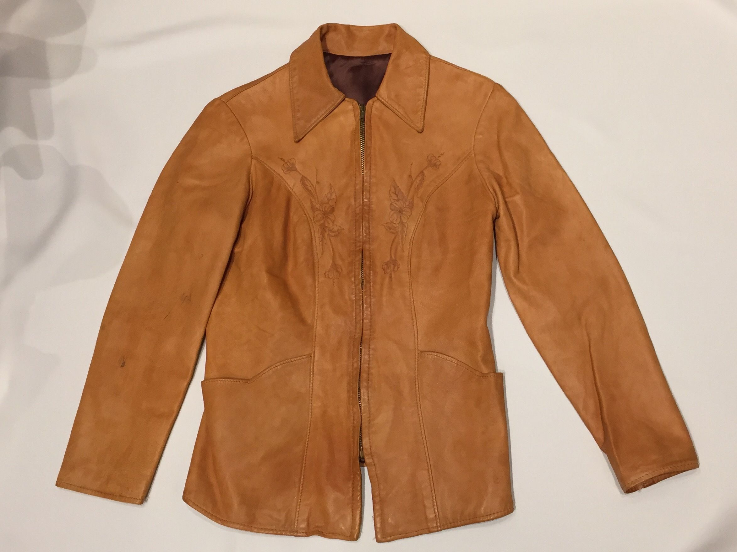 1970's Natural Comfort レザージャケット