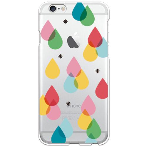 No.INFINITE color drops by maw  クリア ハード ケース(側面部印刷なし) 対応5機種(iPhone機種)