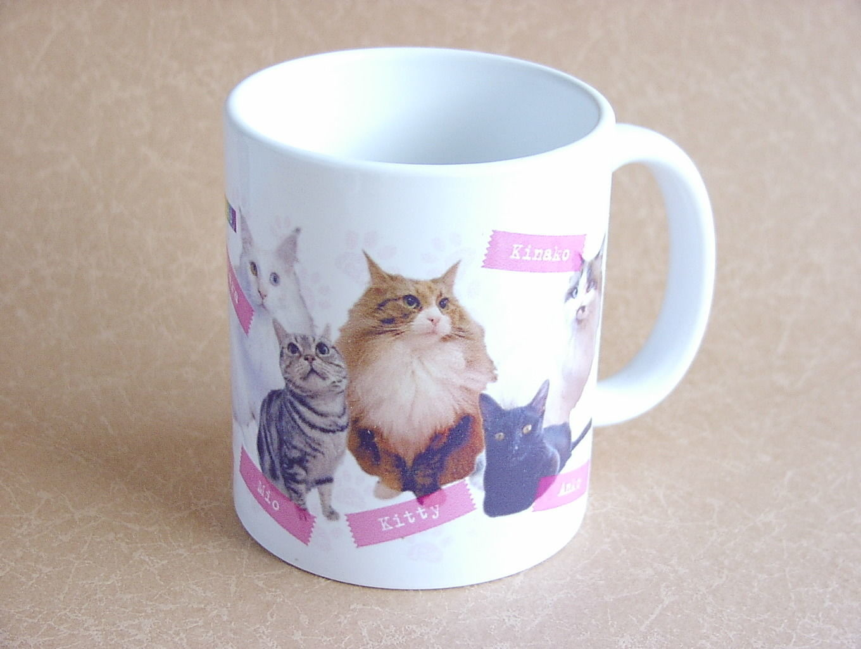 【ニャンシー】猫カフェマグカップ★Nyancyガールズ★