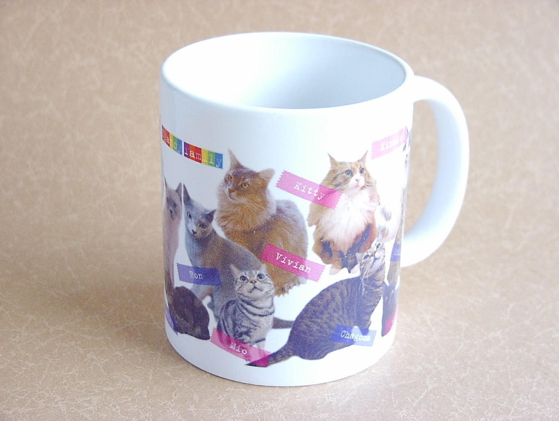 【ニャンシー】猫カフェマグカップ★Nyancyファミリー★