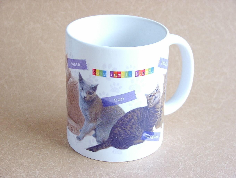 【ニャンシー】猫カフェマグカップ★Nyancyボーイズ★