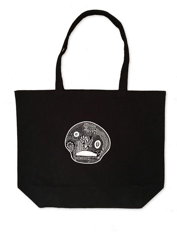 TOTE BAG / BLACK (L)