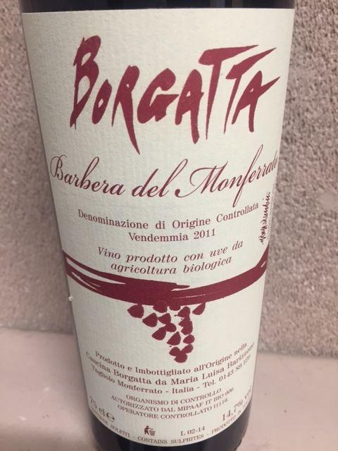 ボルガッタ 14 バルベーラ デル モンフェラート 赤