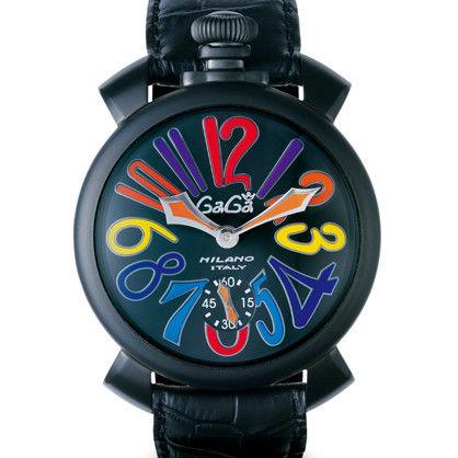 GaGaMILANO ガガミラノ  ブラックPVDモデル 品番5012.03S