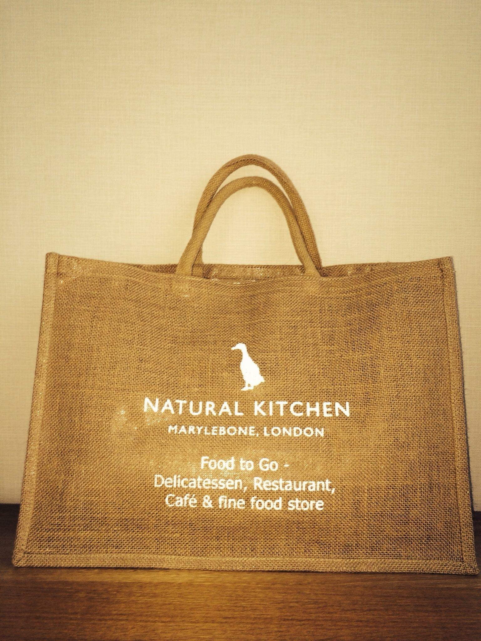 エコバッグ(Natural Kitchen)ナチュラルキッチン ※ラージ【難あり】