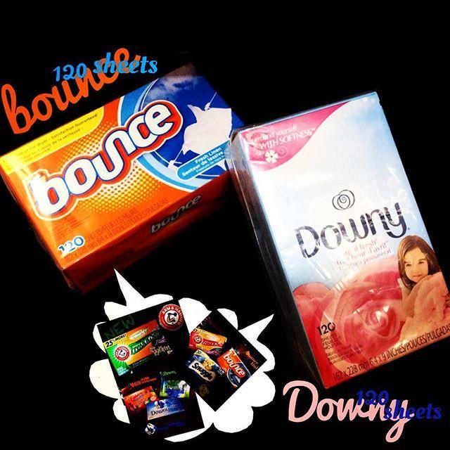 bounce(R) Downy(R) 香りシート