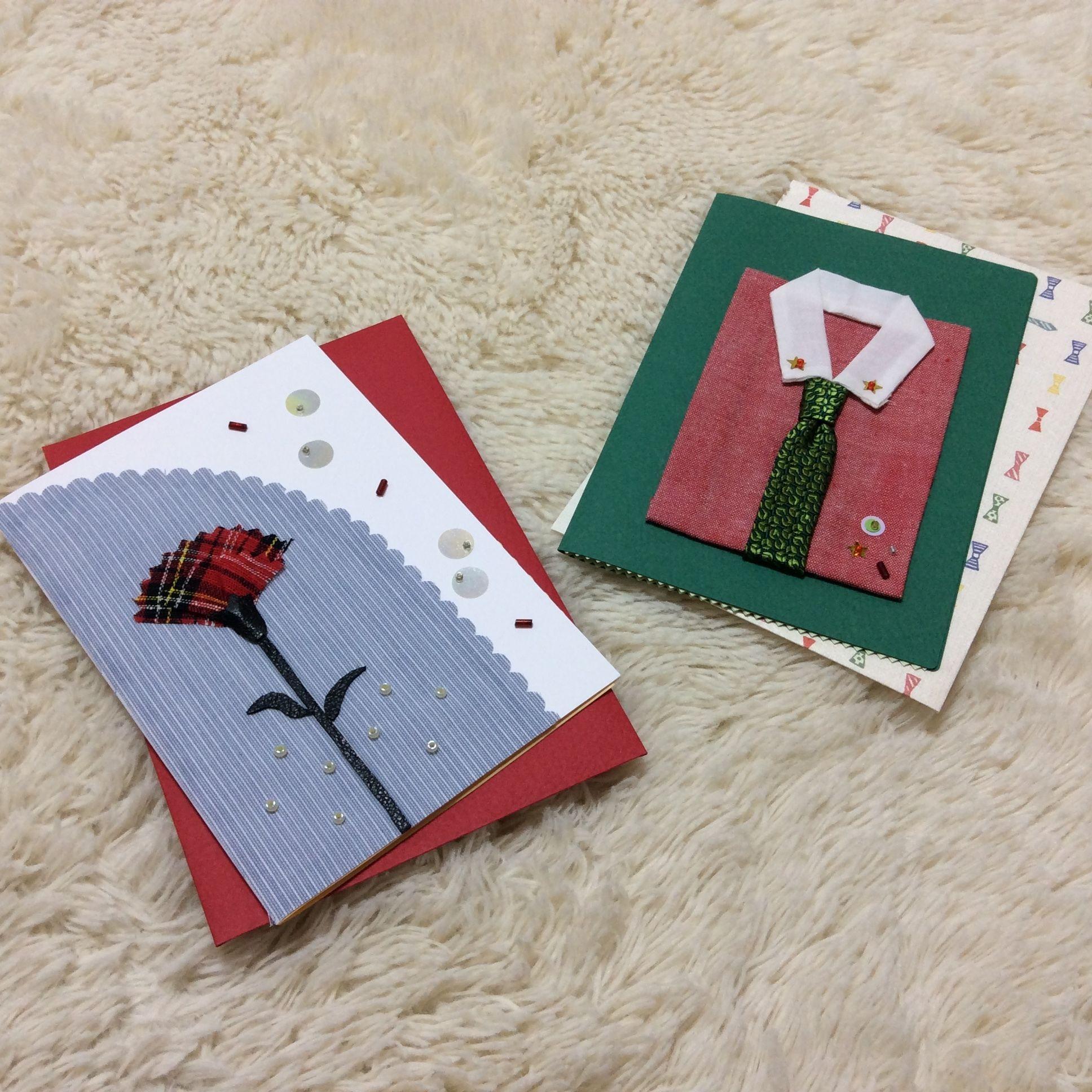 【再販】グリーティングカード ★母の日&父の日★2枚セット