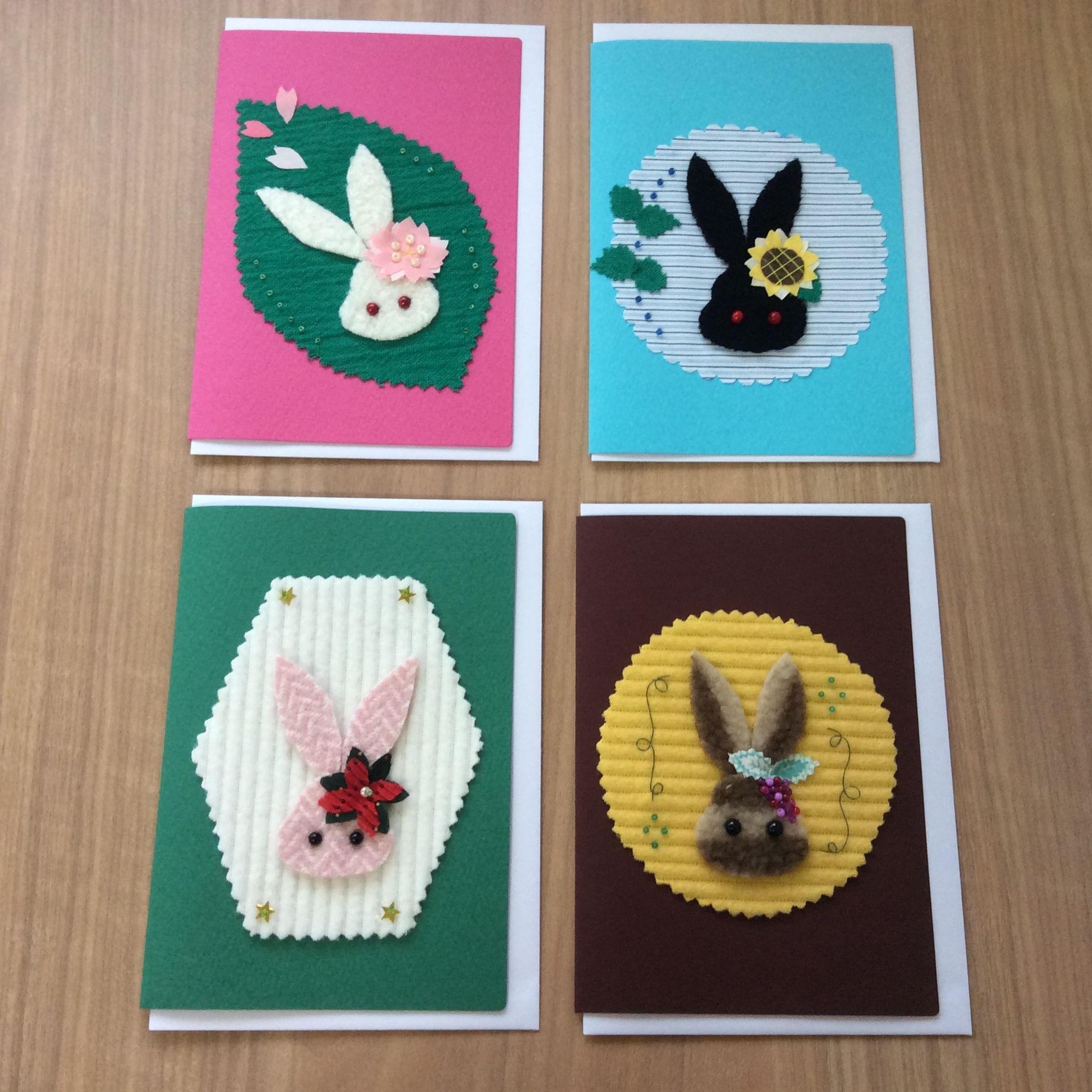 四季カード★うさぎシリーズ★