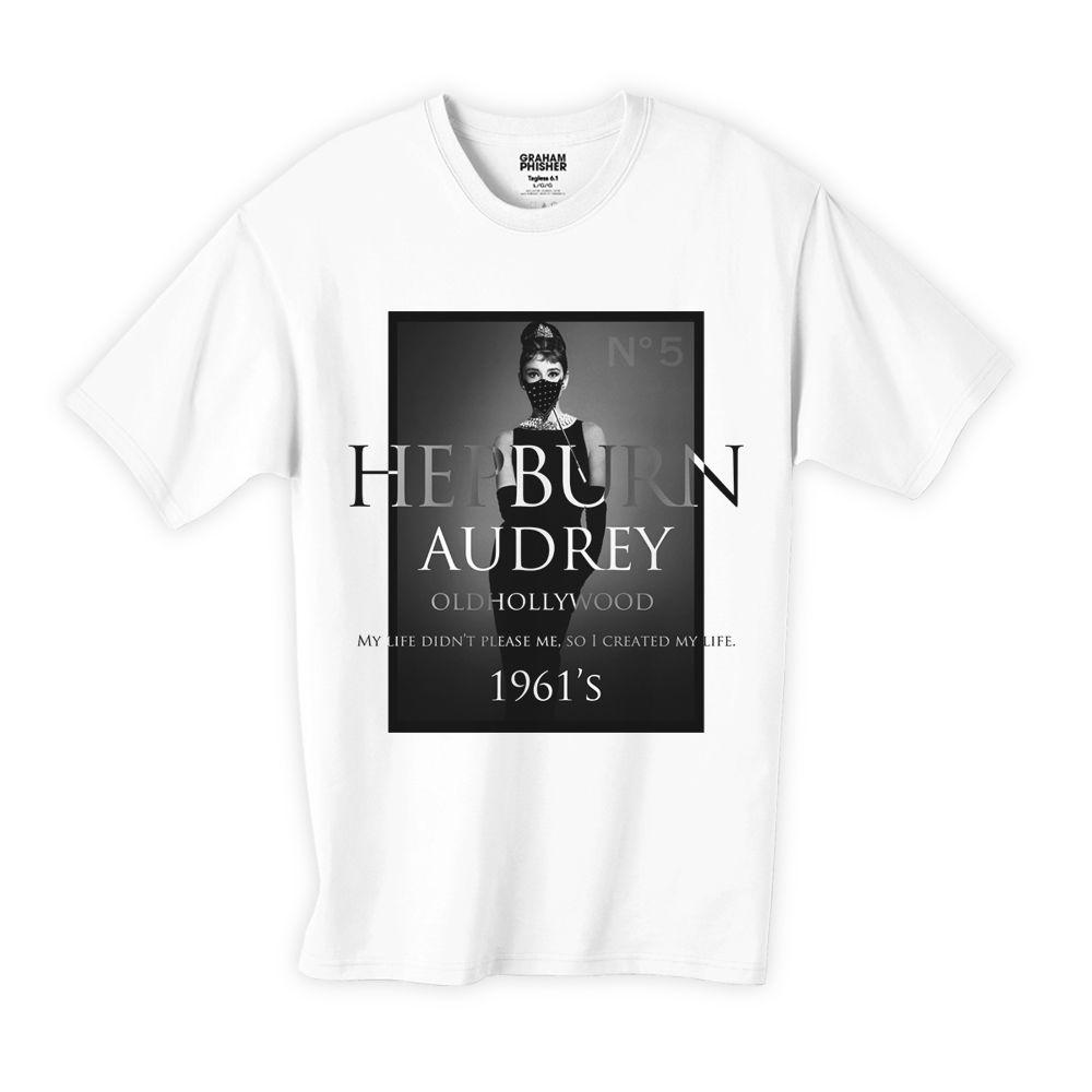 オードリー・ヘプバーン シャネルTシャツ