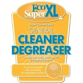 【業務用洗剤】エコスーパー 4L 油汚れにも強い万能タイプ