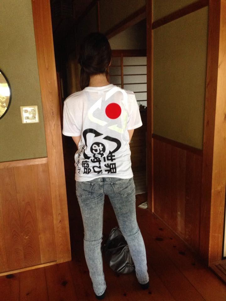送料無料~世界おむすび協会記念Tシャツ~