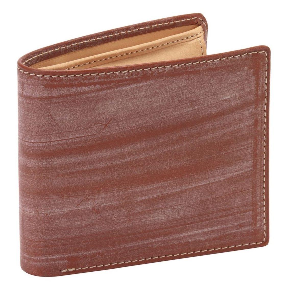 GORBE ブライドルレザー二つ折り財布[名入れ無料]