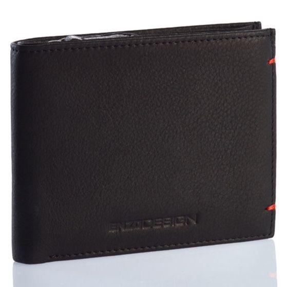 ENZODESIGN ソフトレザースリム二つ折り財布