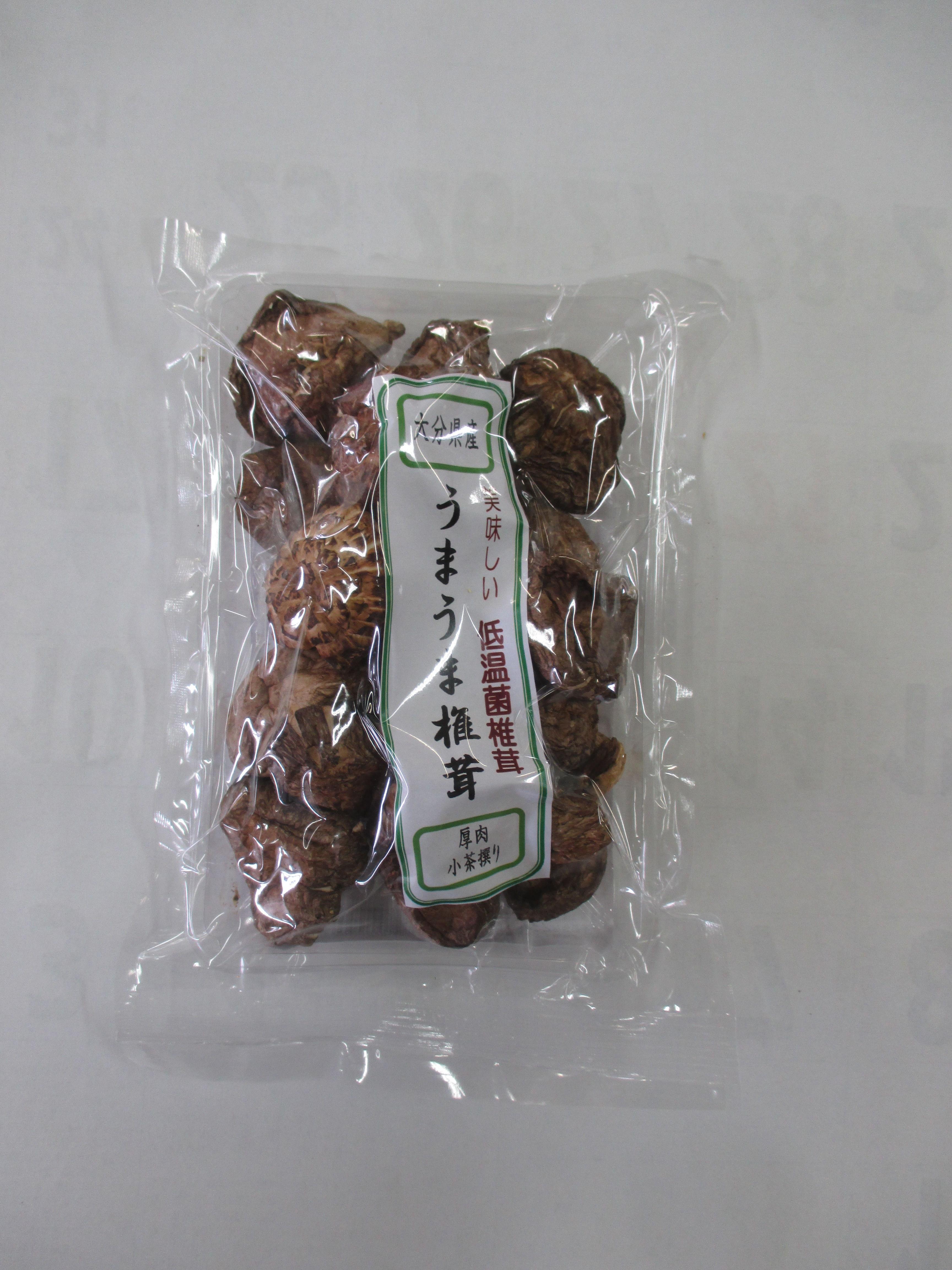大分県産うまうま椎茸 厚肉小茶選 40g