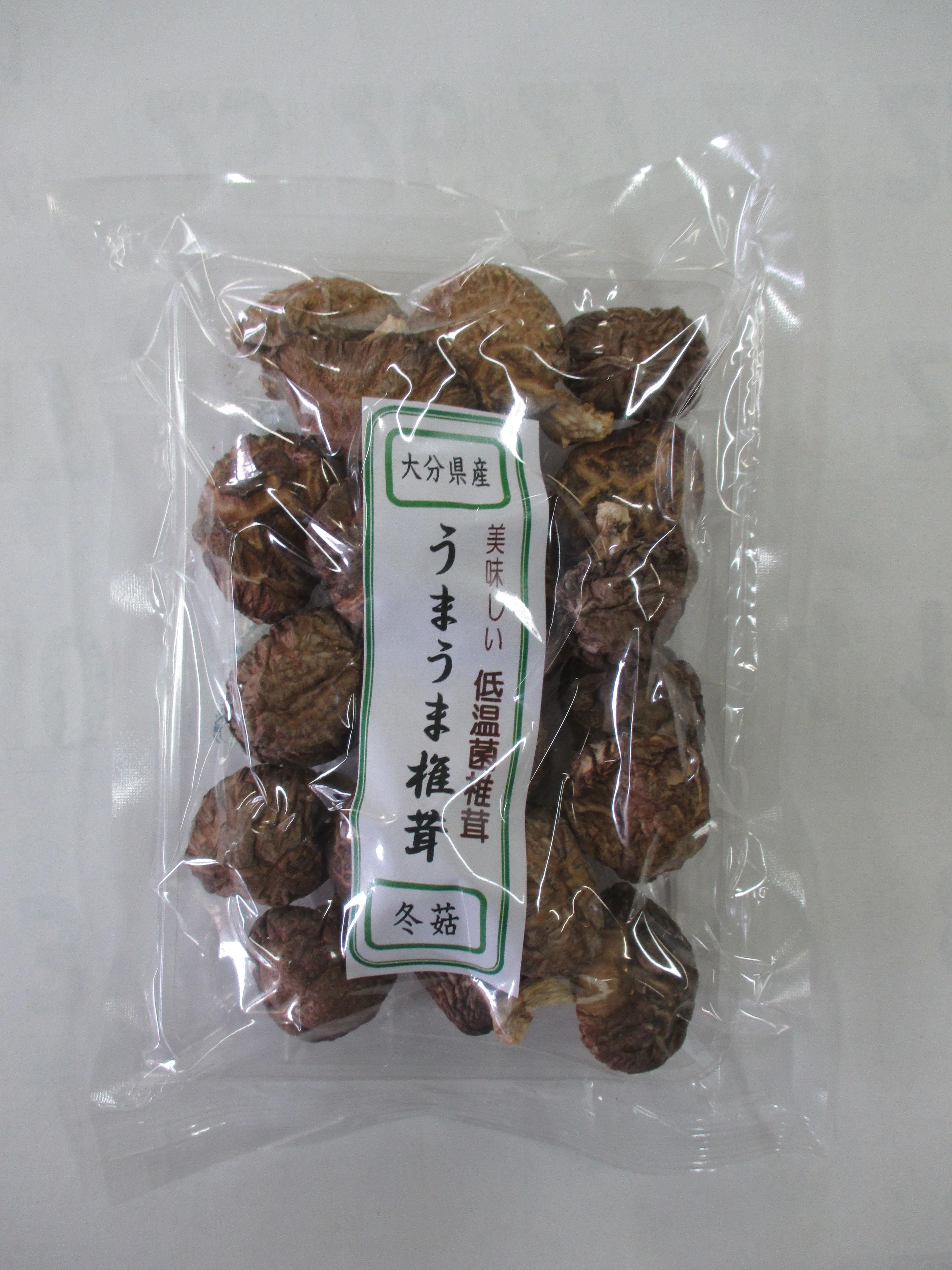 大分県産うまうま椎茸 冬菇 60g
