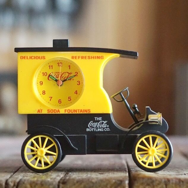 90s コカ・コーラ時計