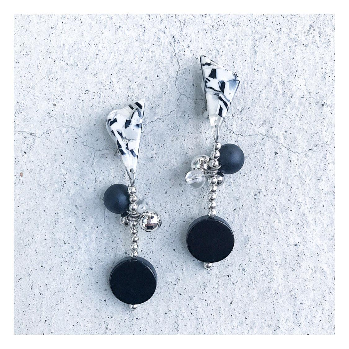 【ご予約】Dalmatian 【earring】